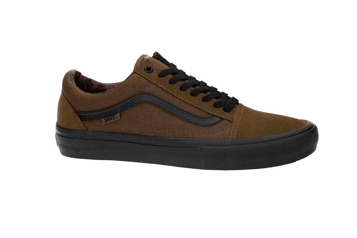 Vans Old Skool Pro Schuh (teak black)
