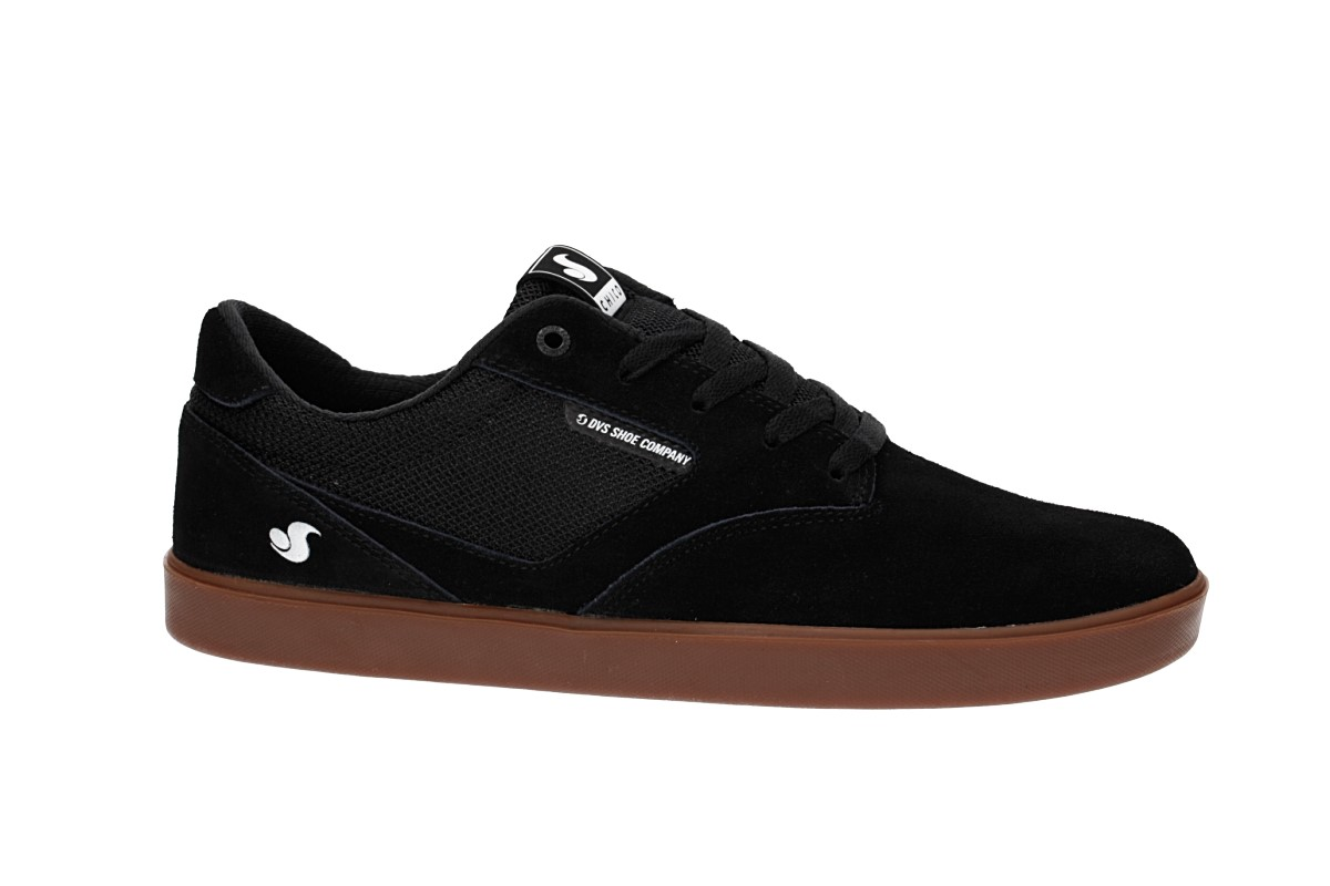 DVS Pressure SC Suede Shoes (black gum chico)