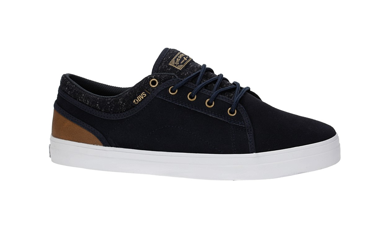 DVS Aversa Suede Shoes (navy)