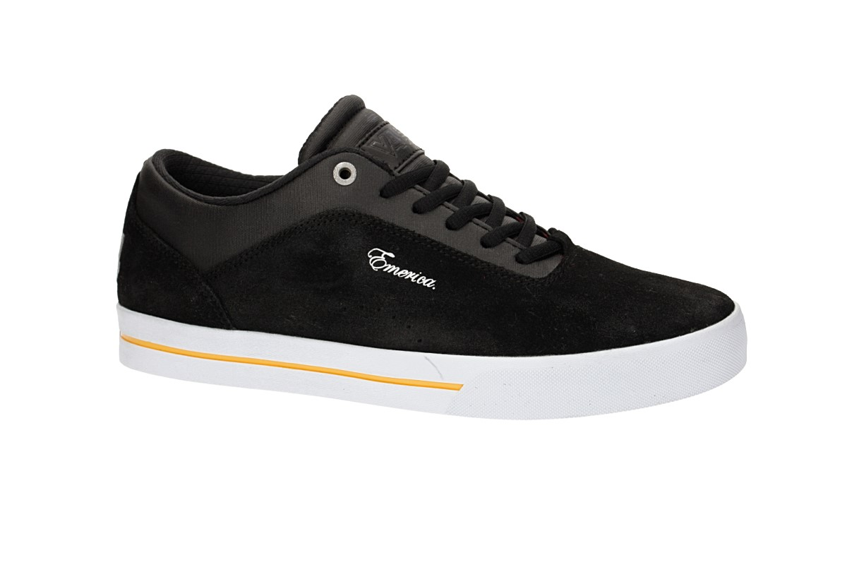 Emerica Herman G-Code Schuh (black white gold)