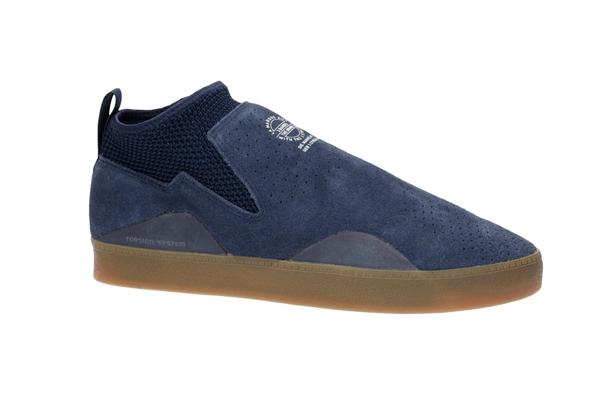 adidas Skateboarding 3ST.002 Shoes (navy white gum)