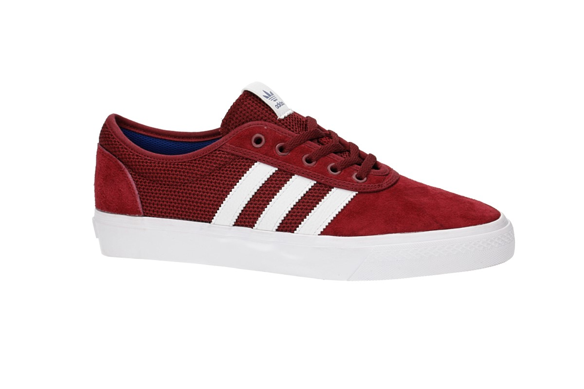 adidas Skateboarding Adi Ease Shoes (core burgundy white royal)