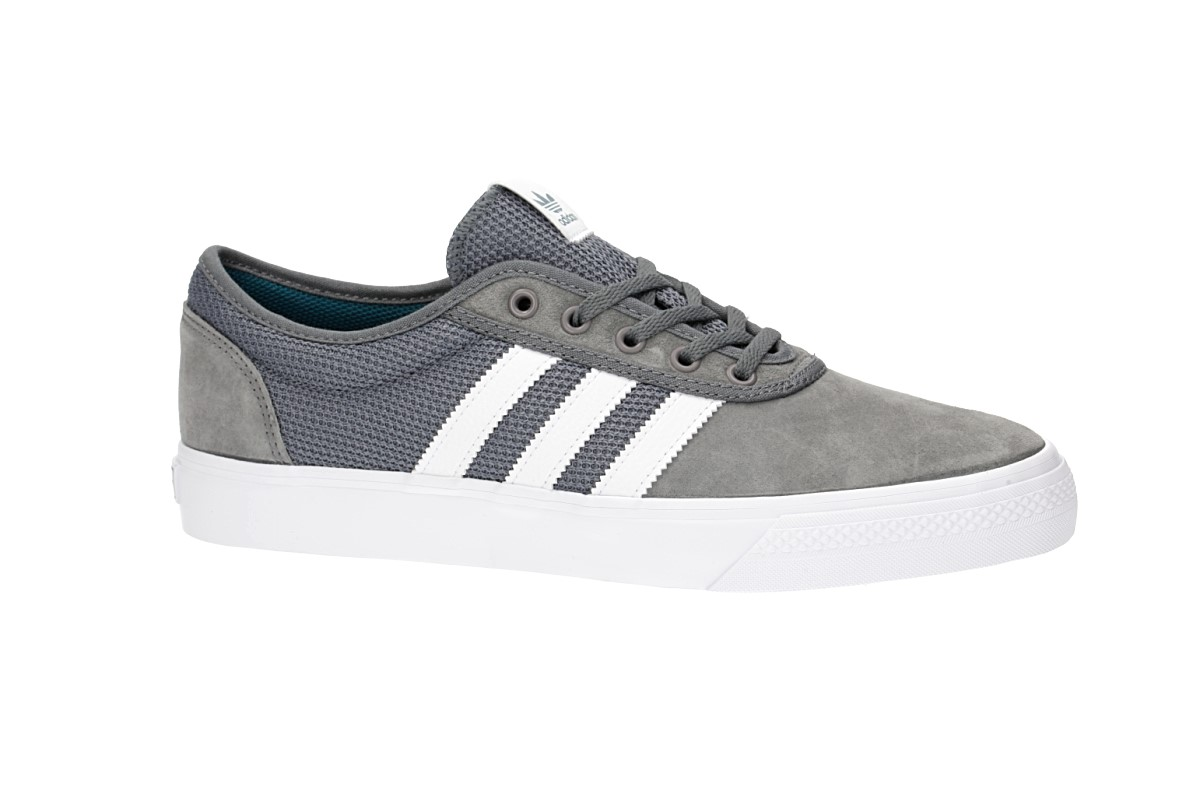 adidas Skateboarding Adi Ease Shoes (grey four white real teal)