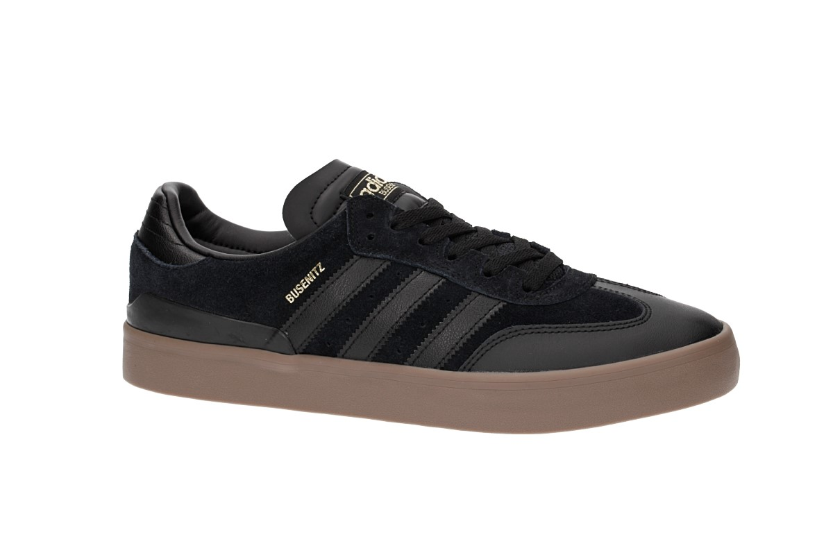 los angeles 8cb23 7f7c2 adidas Skateboarding Busenitz Vulc RX Shoes (core black core black gum)
