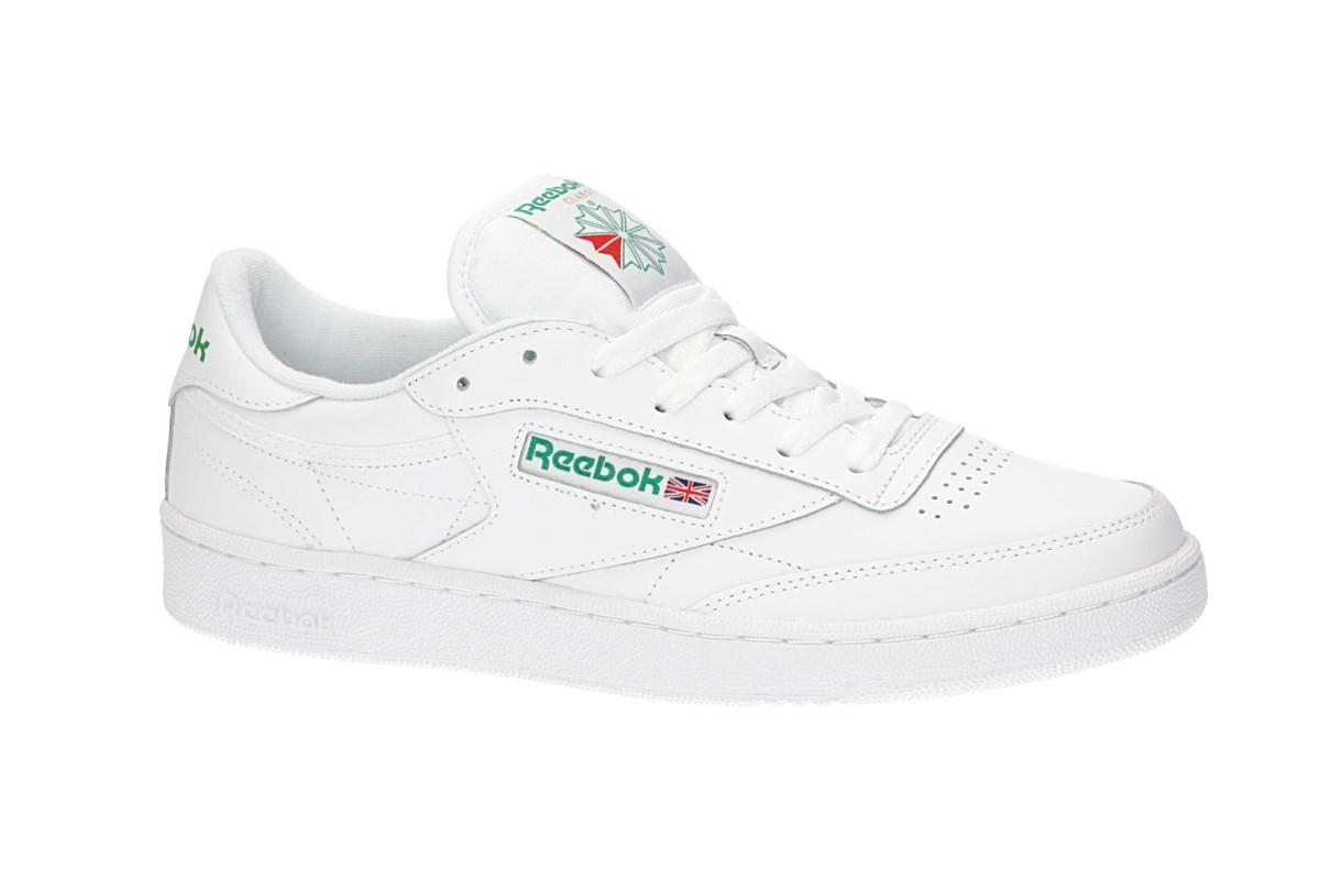 Reebok Club C 85 Shoes (white green)