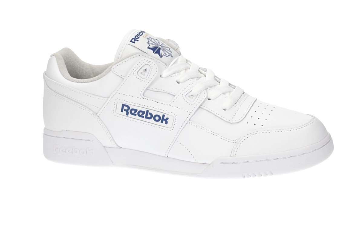 Reebok Workout Plus Scarpa (white blue)