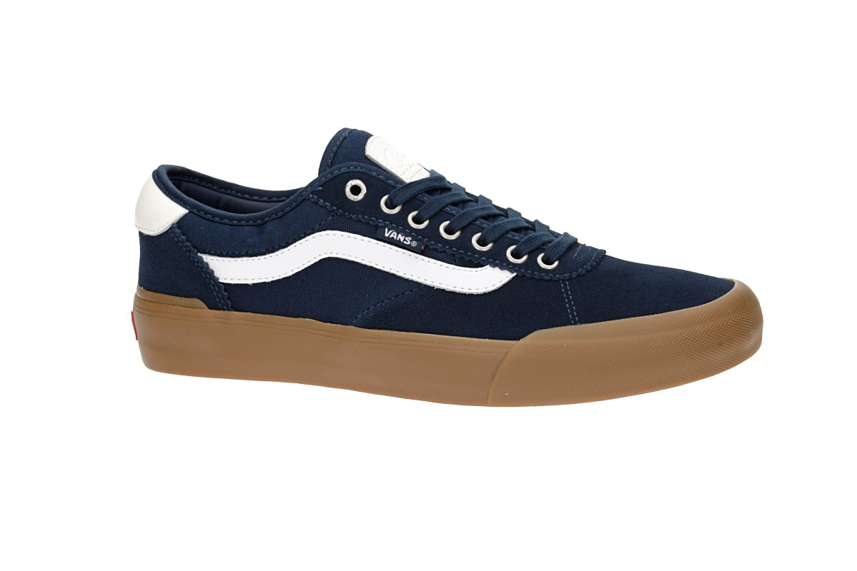 3181bbf20913ad Vans Chima Pro 2 Shoes (navy gum white) buy at skatedeluxe