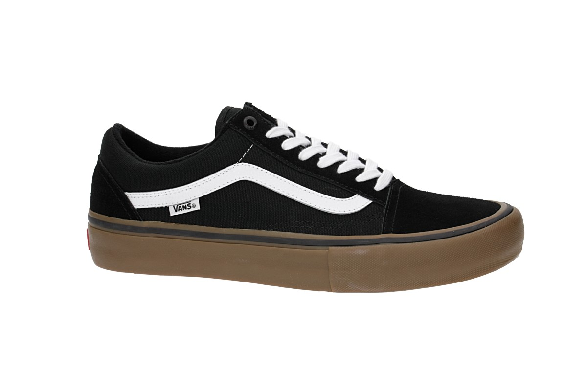 Vans Old Skool Pro Chaussure (black white gum)