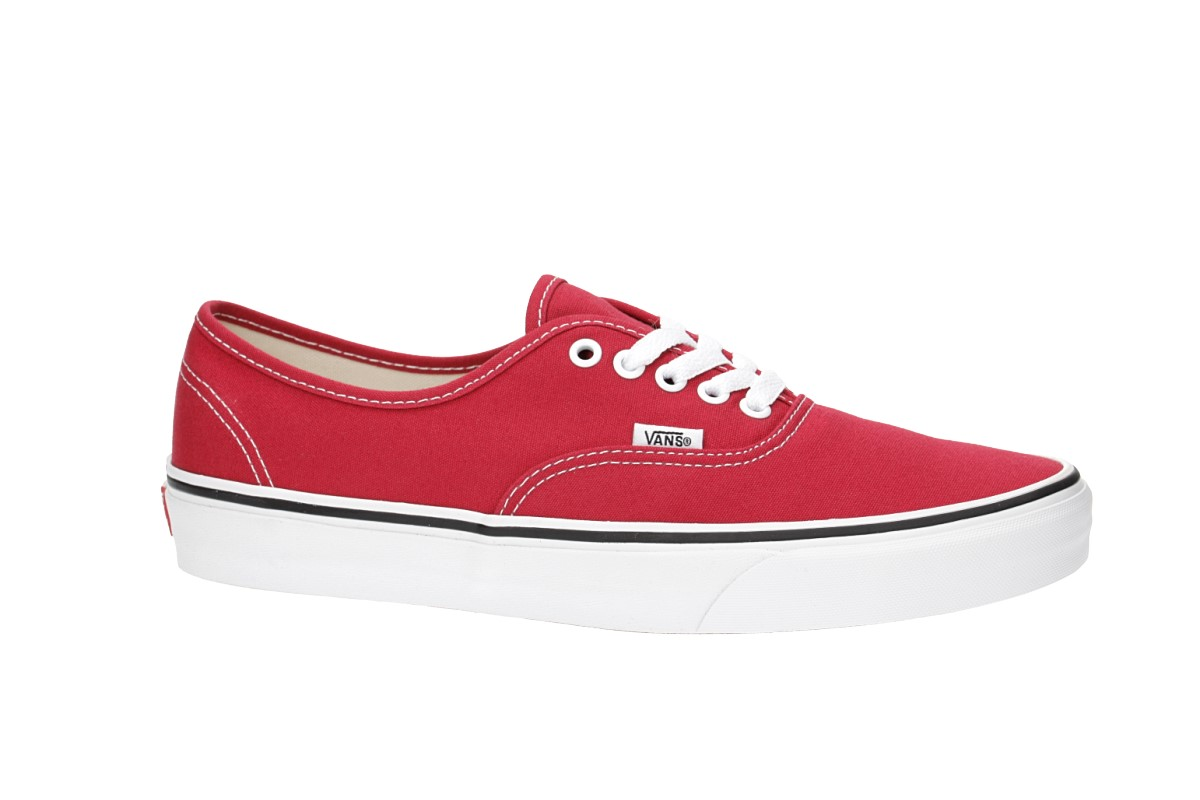 Vans Authentic Shoes (crimson true white)