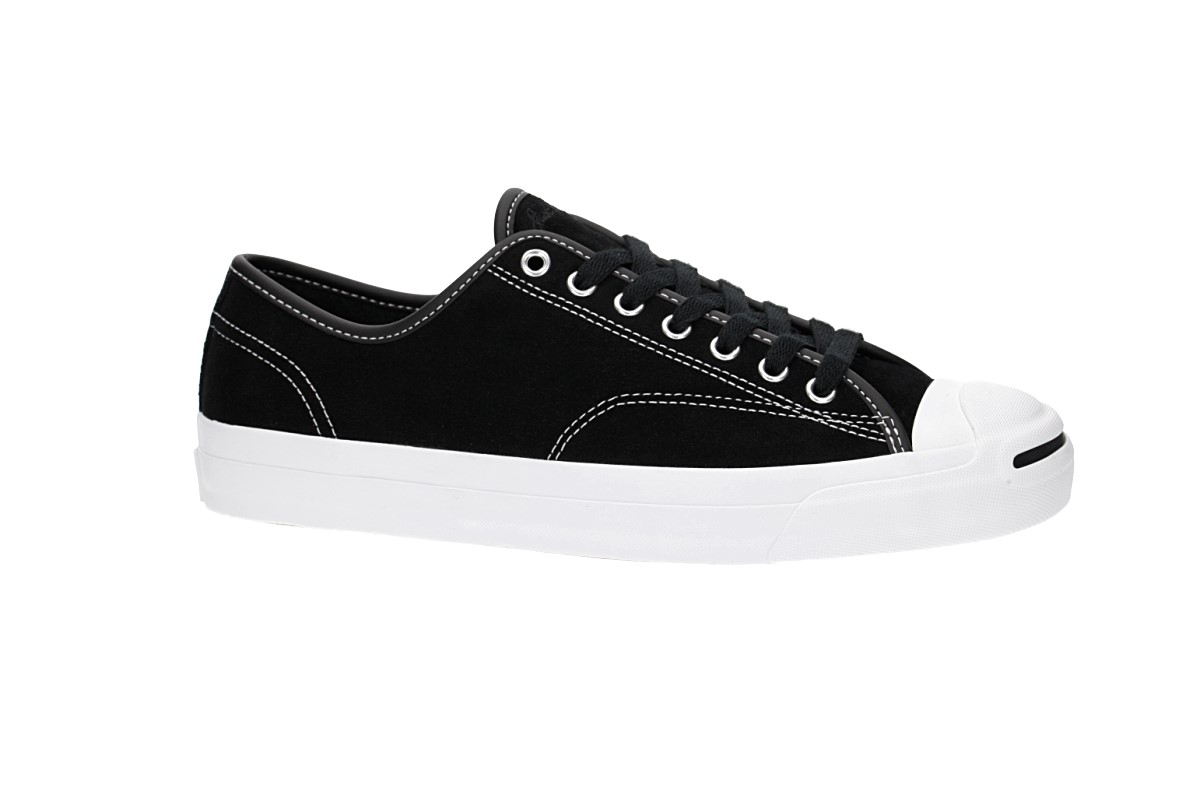 dfdebdea6325 Converse CONS Jack Purcell Pro Ox Shoes (black black white) buy at ...