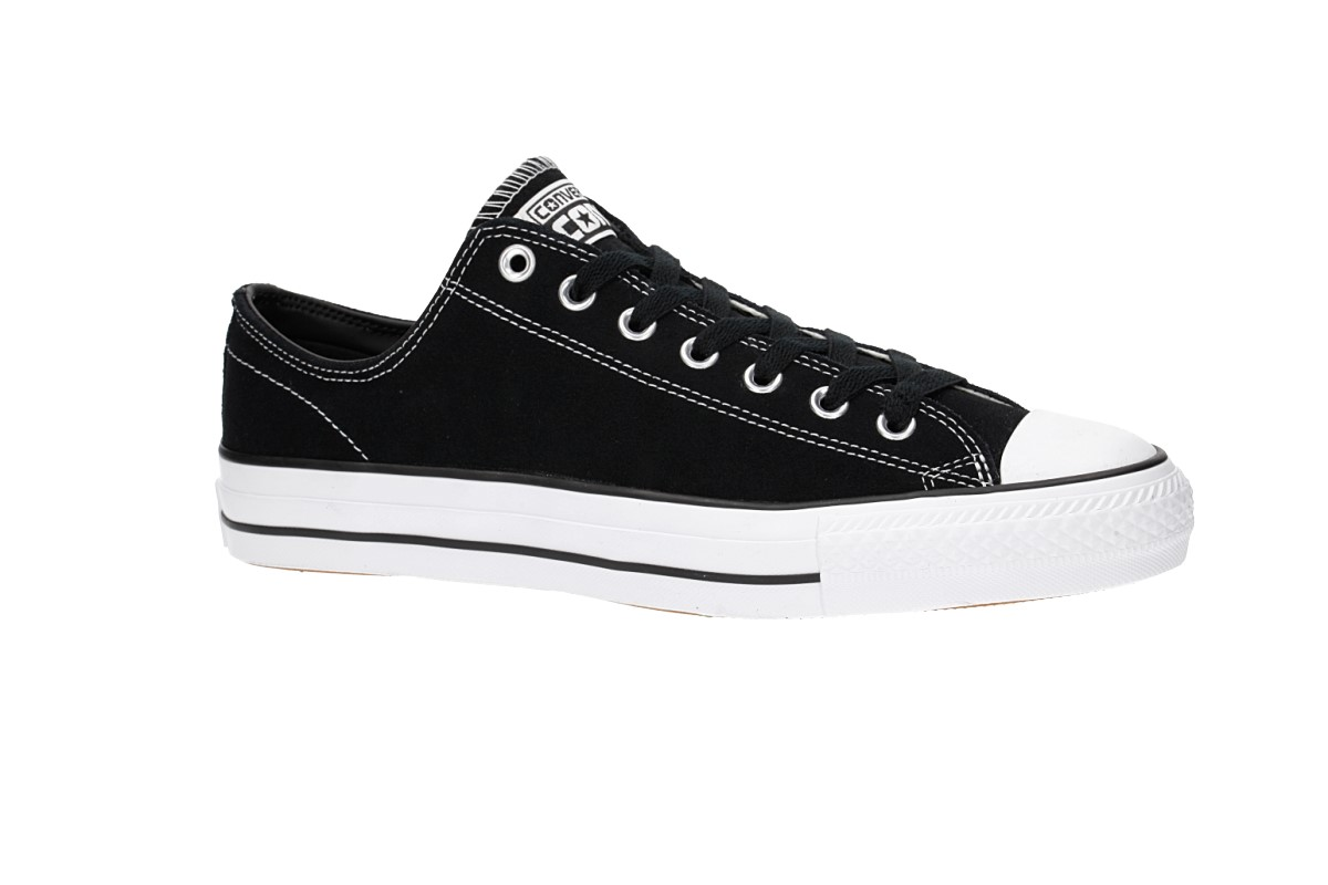 Converse CONS Chuck Taylor All Star Pro Ox Shoes (black black white ... 094a218ec