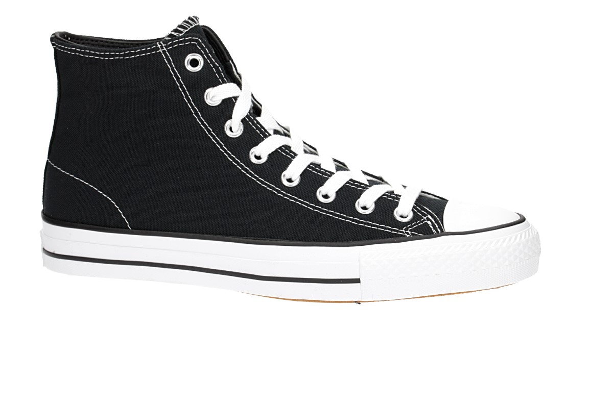 Converse CONS Chuck Taylor High All Star Pro Chaussure (black black white white)