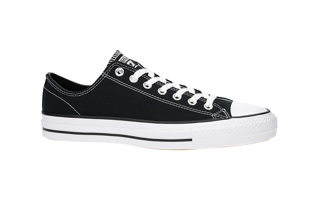 Converse CONS Chuck Taylor All Star Pro Ox Schuh (black black white white)