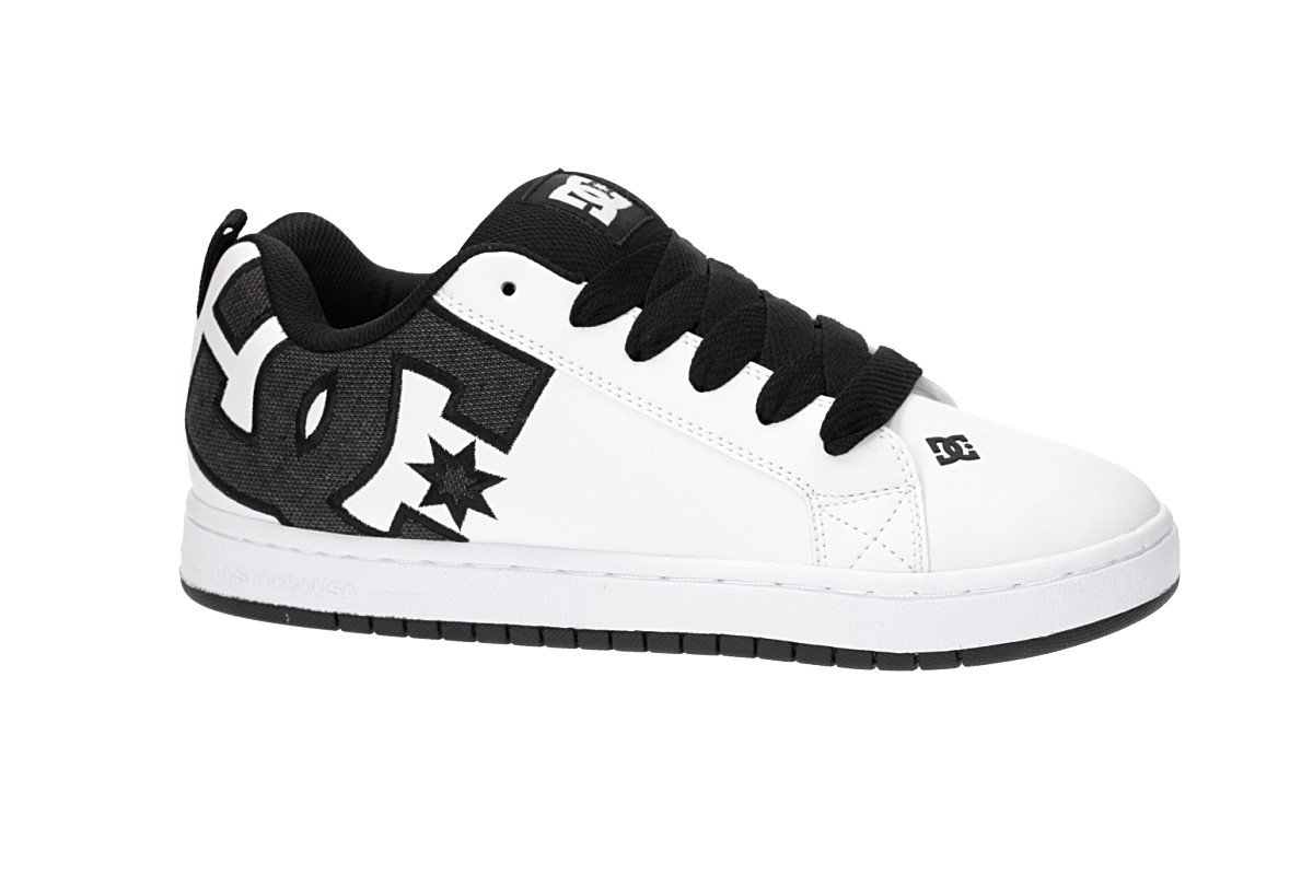 DC Court Graffik SE Schuh (black white white)