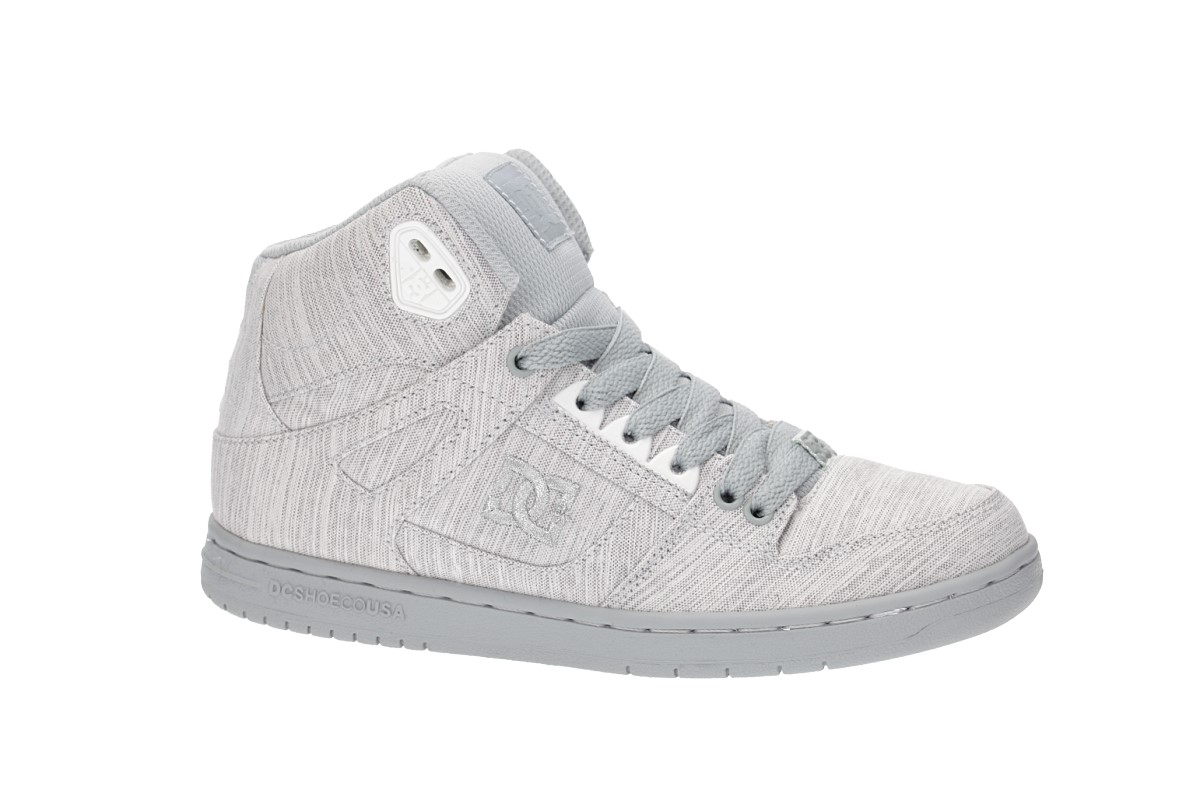 DC Pure High Top TX SE Schoen women (grey grey grey)
