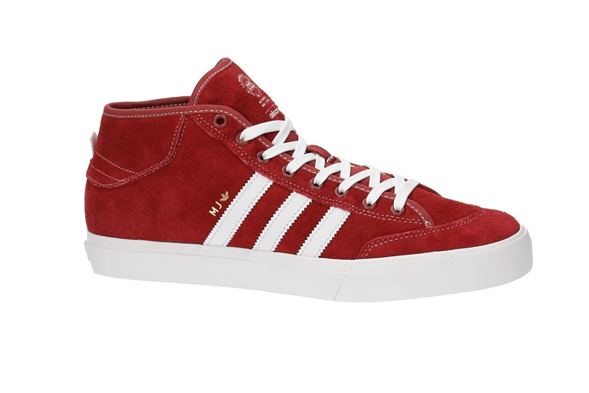 adidas Matchcourt Mid x MJ Shoes (mystery red)