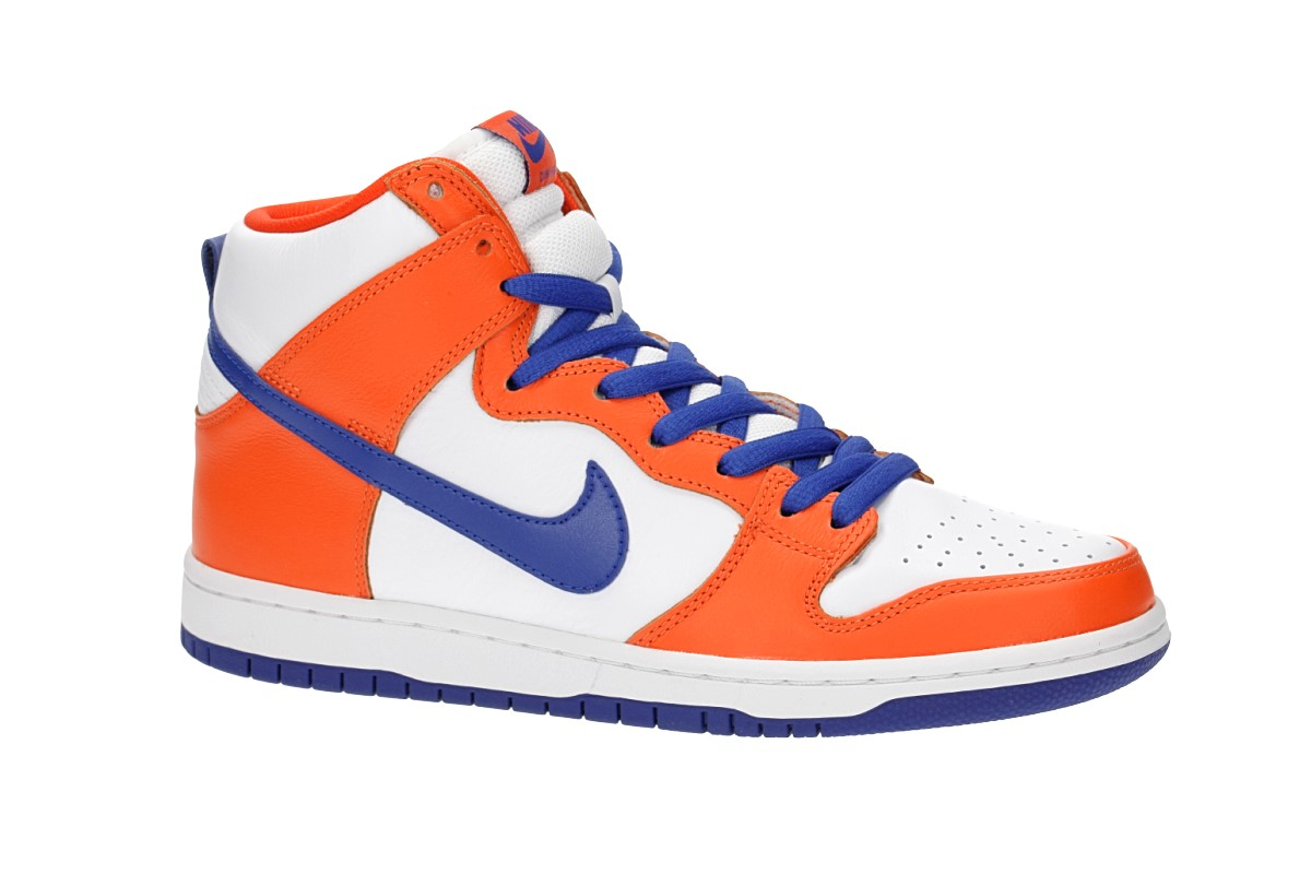 Nike SB Dunk High OG Danny Supa QS Schuh (safety orange hyper blue white)