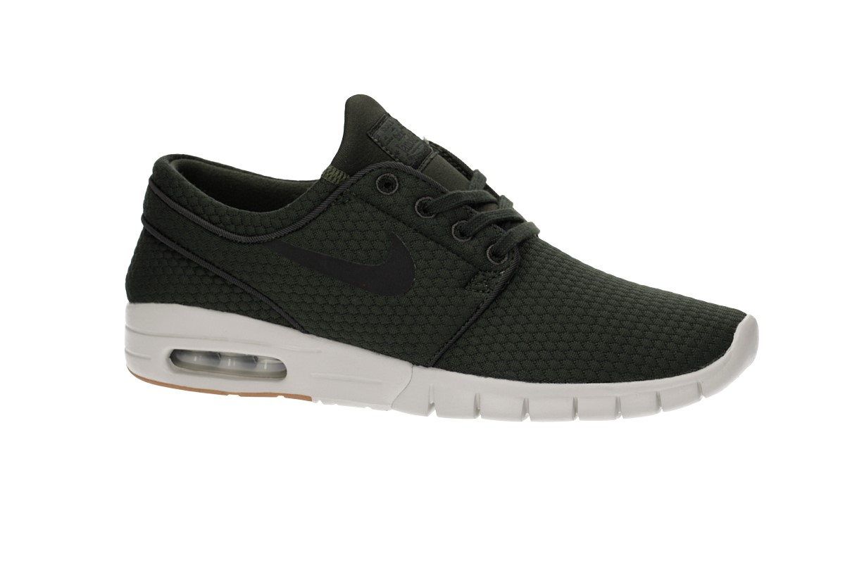 Nike SB Stefan Janoski Max Shoes (sequoia black)