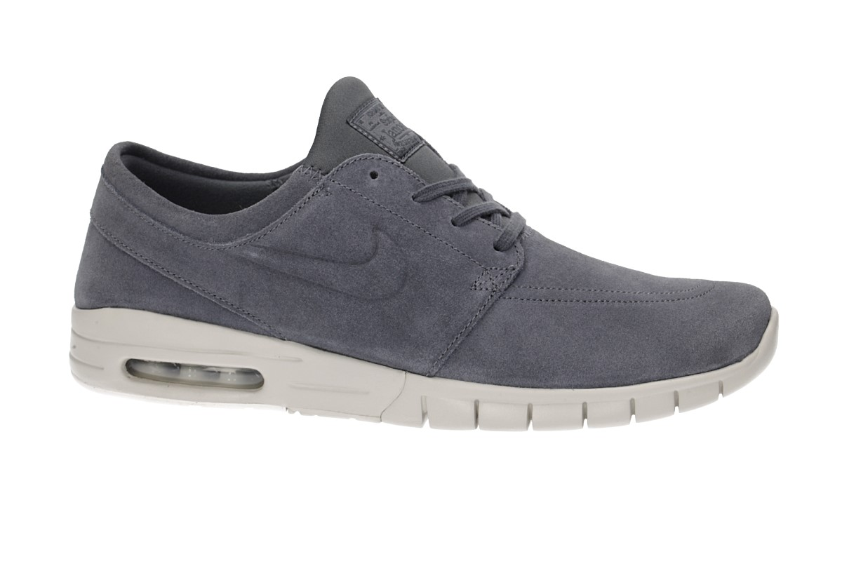 Nike SB Stefan Janoski Max Suede Chaussure (dark grey light bone)