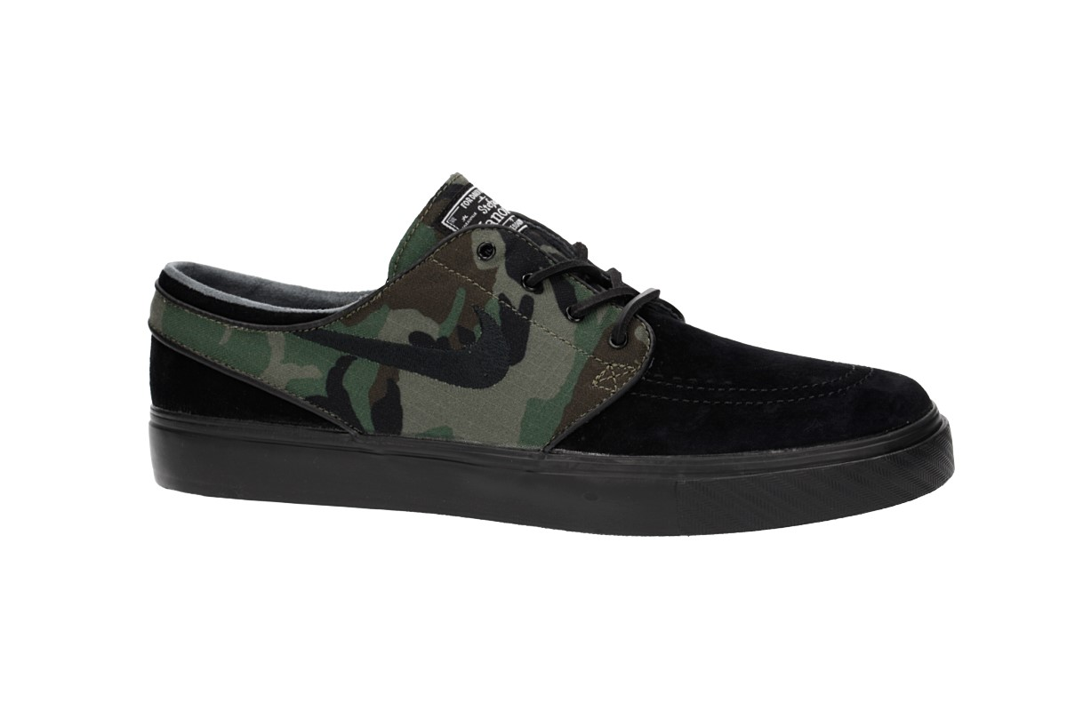 Nike SB Zoom Stefan Janoski OG Shoes (black black medium olive)