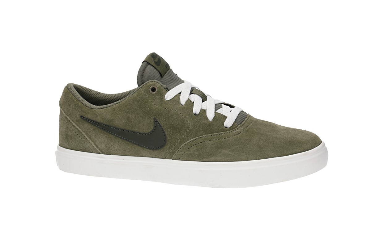 Nike SB Check Solarsoft Chaussure (medium olive sequoia)