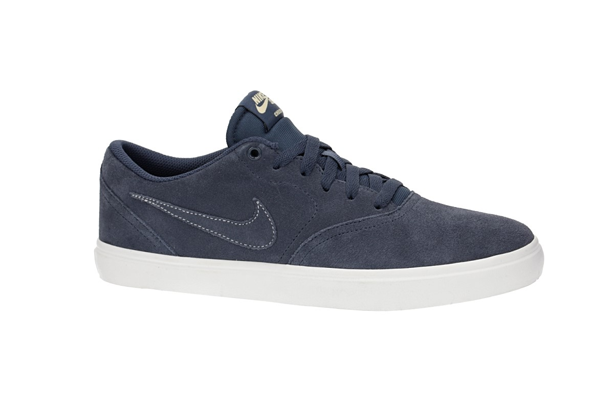 Nike SB Check Solarsoft Schoen (thunder blue summit white)