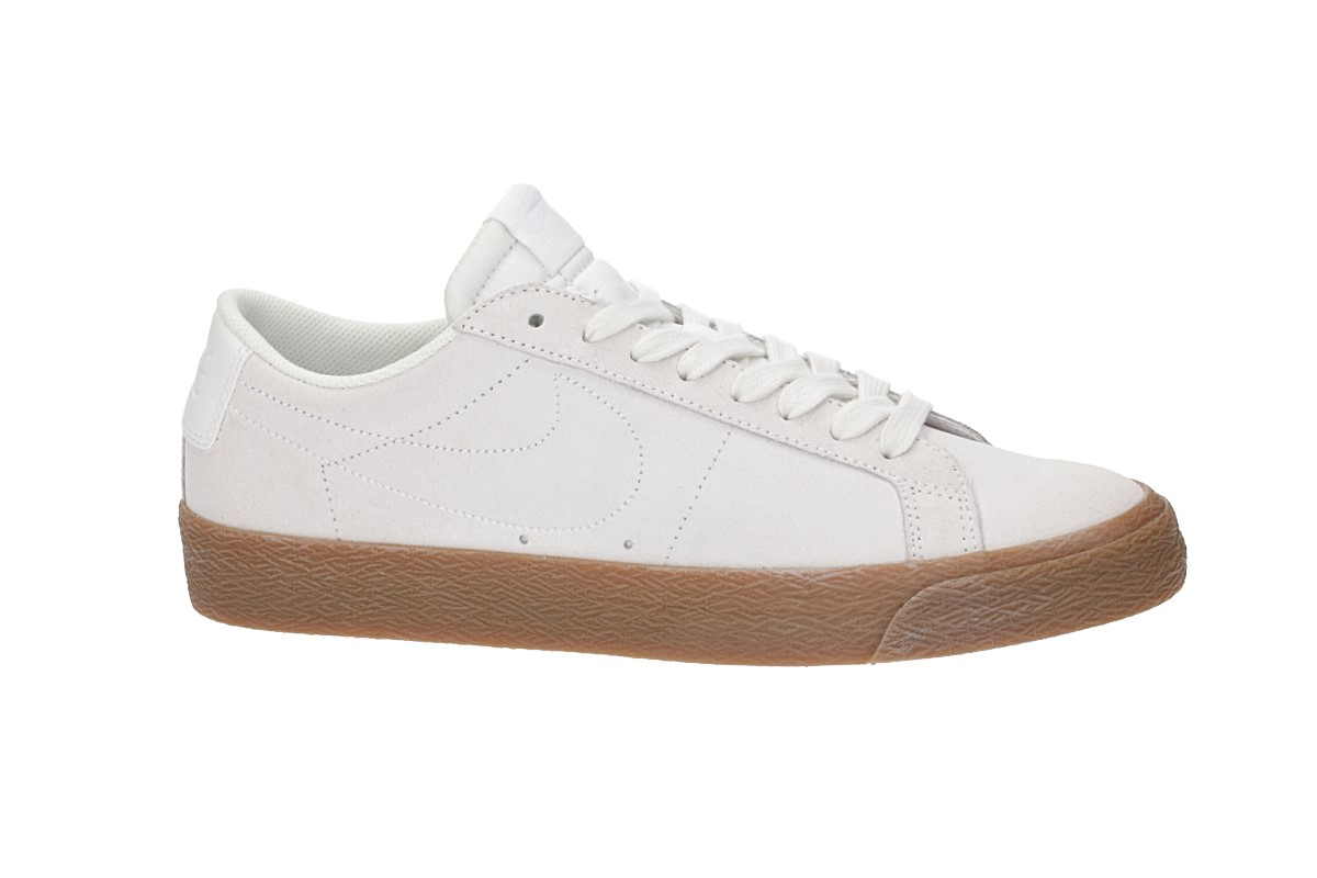 Nike SB Zoom Blazer Low Chaussure (summit white gum)