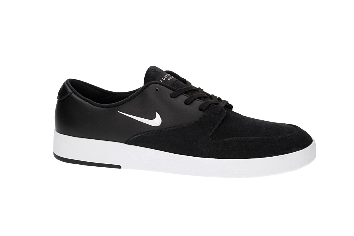 Nike SB Zoom P-Rod X Schoen (black white)