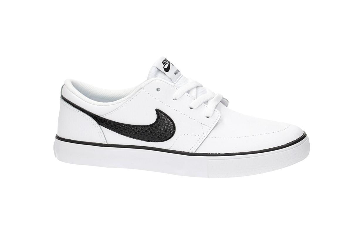 Nike SB Solarsoft Portmore II Schuh women (white black)