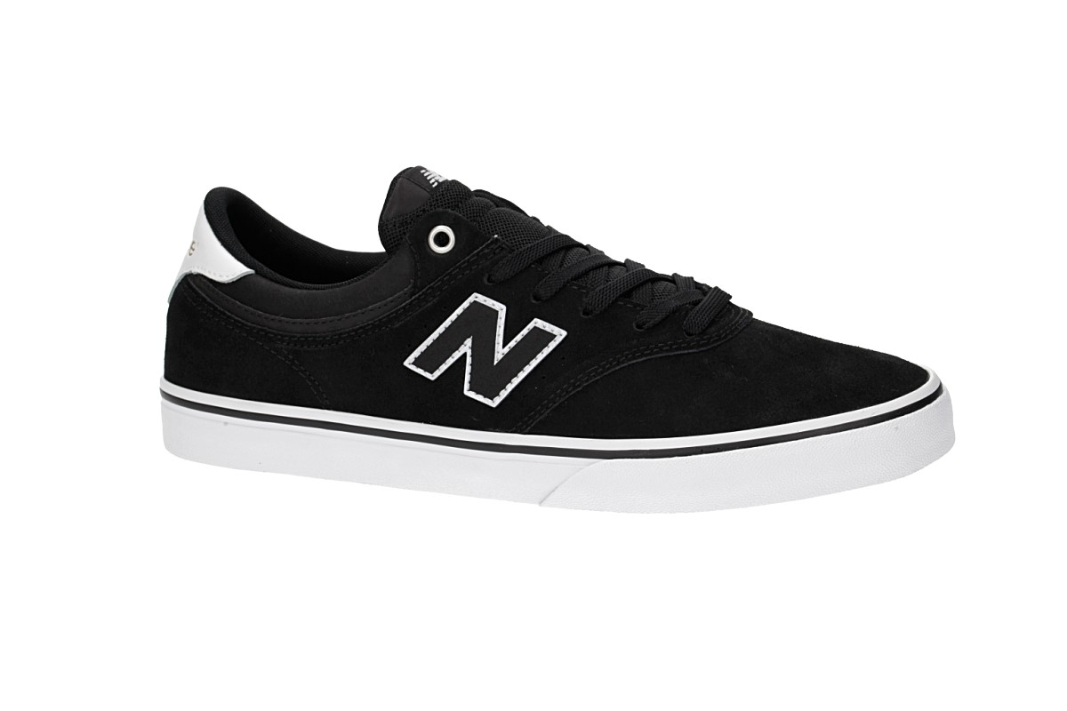 New Balance Numeric 255 Shoes (black white)