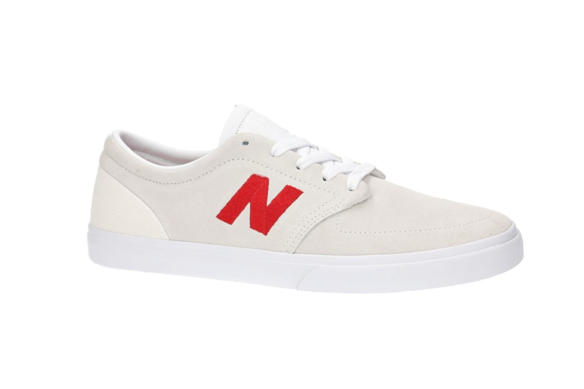 New Balance Numeric 345 Shoes (white red)