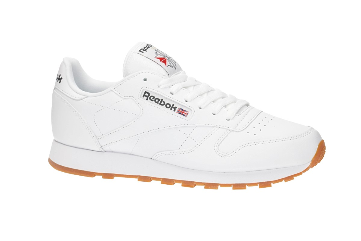 Reebok Classic Leather Schuh (white gum)