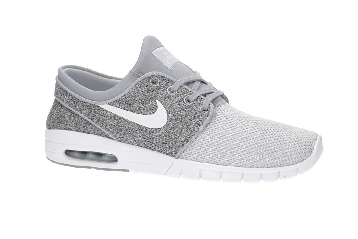 premium selection f60c7 9294b Nike SB Stefan Janoski Max Shoes (wolf grey white)