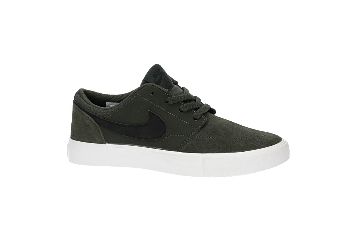 Nike SB Portmore II Scarpa kids (medium olive black)