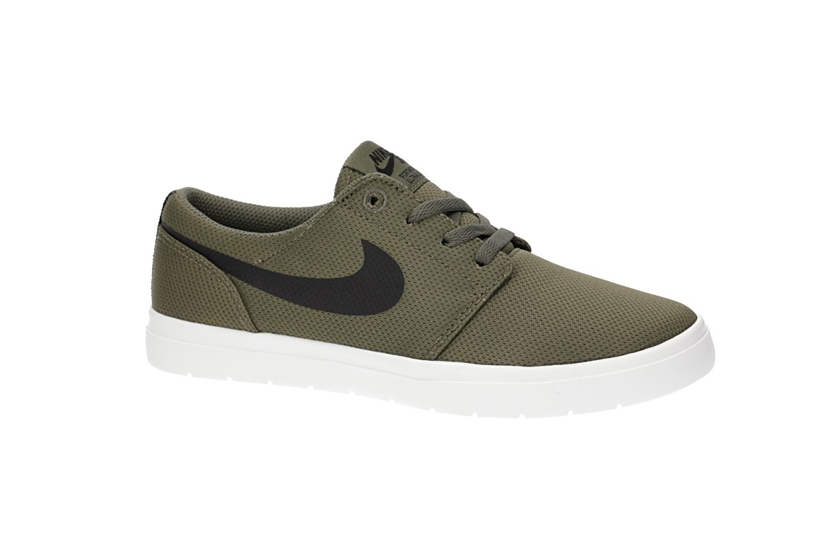 Nike SB Portmore II Ultralight Shoes kids (medium olive black)