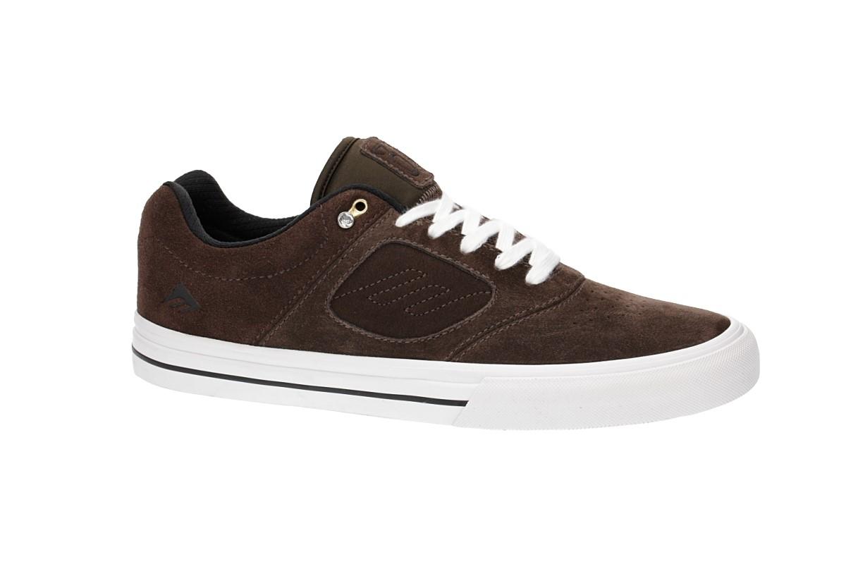 Emerica Reynolds 3 G6 Vulc Schuh (brown white)