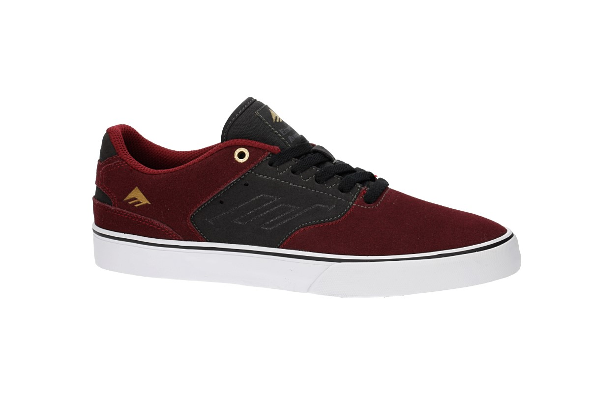 Emerica The Reynolds Low Vulc Schuh (red grey)