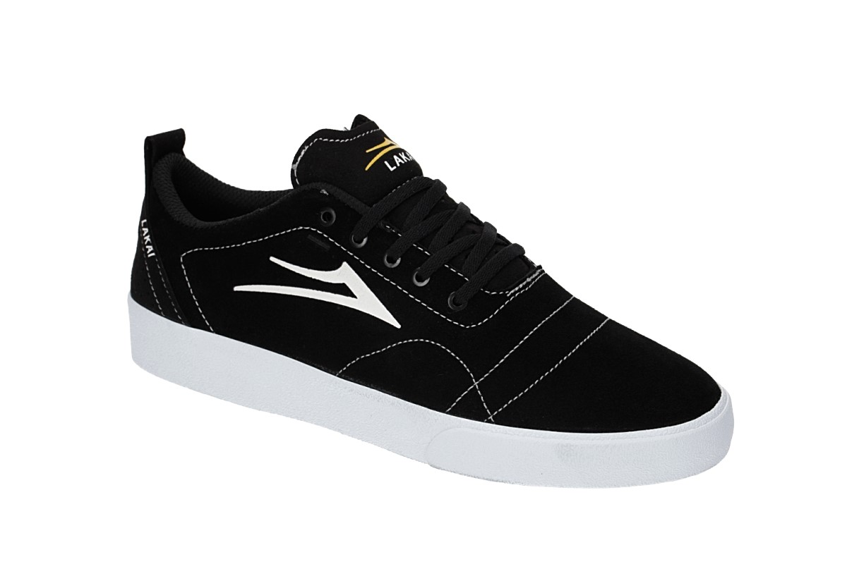 Lakai Bristol Suede Chaussure (black white)