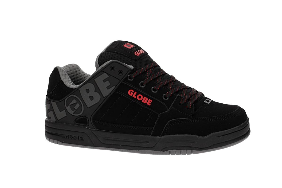 Globe Tilt Schoen (black black red)