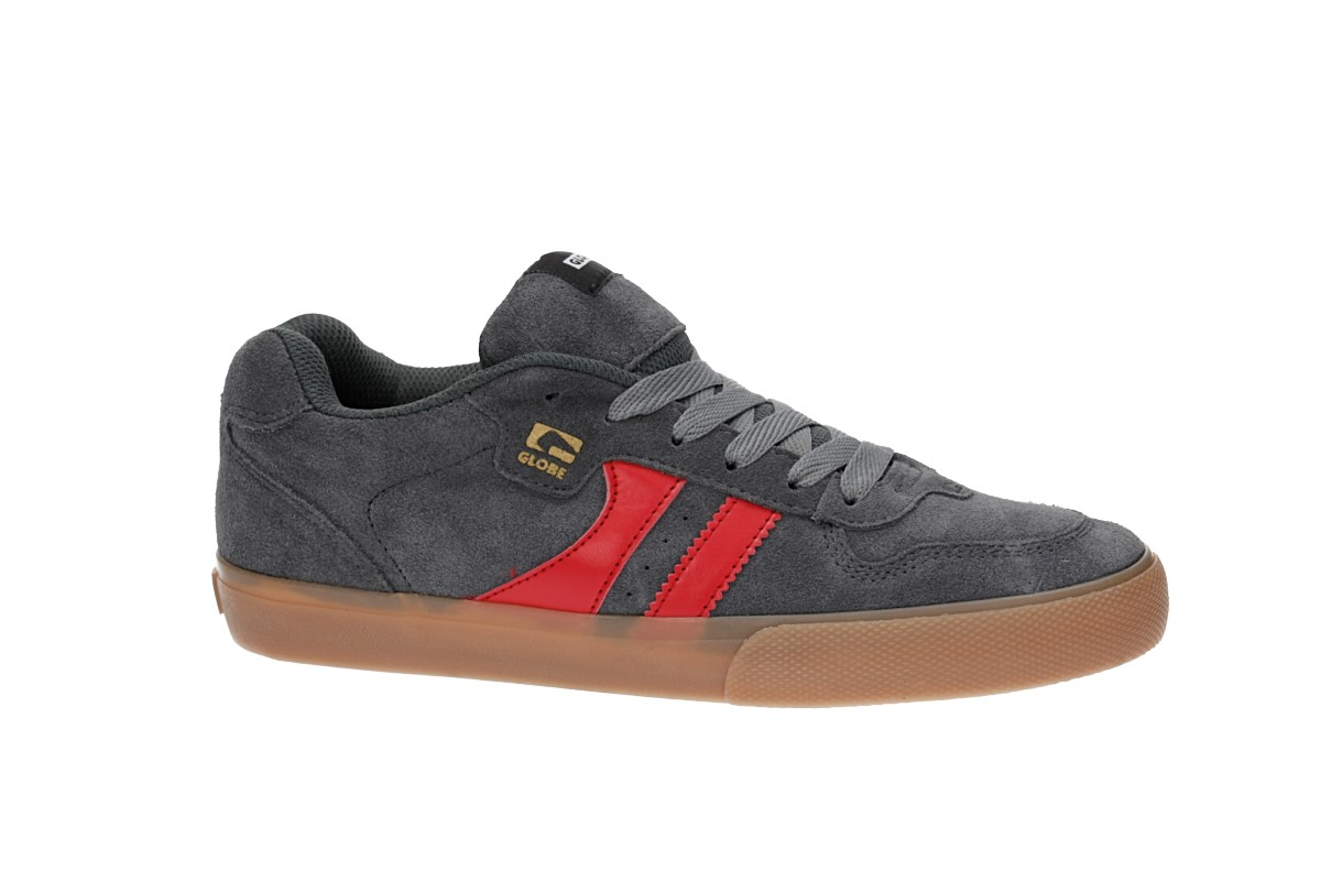 Globe Encore 2 Shoes (charcoal gum red)