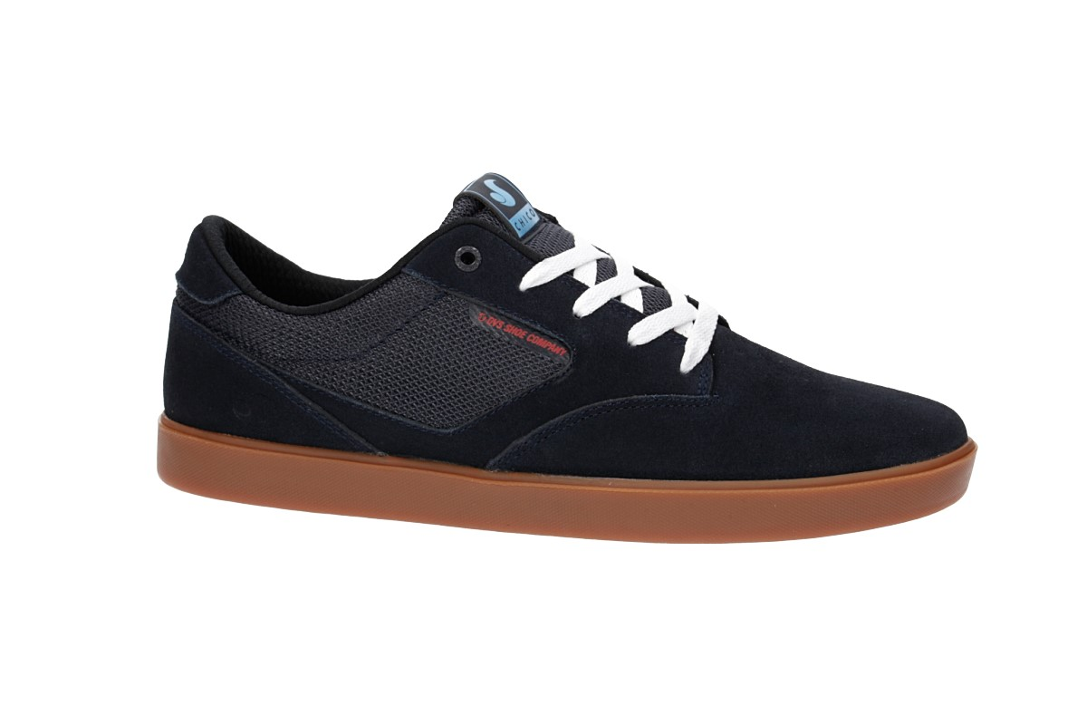 DVS Pressure SC+ Suede Shoes (navy chico)