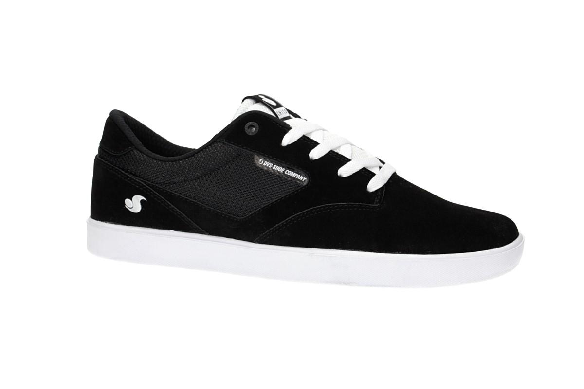 DVS Pressure SC+ Suede Shoes (black white chico)
