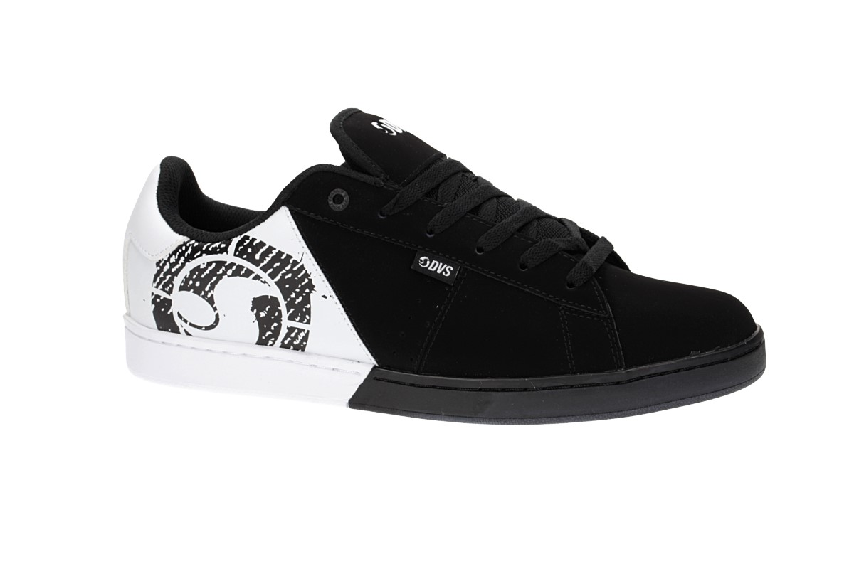 DVS Revival Split Leather Chaussure (black white)
