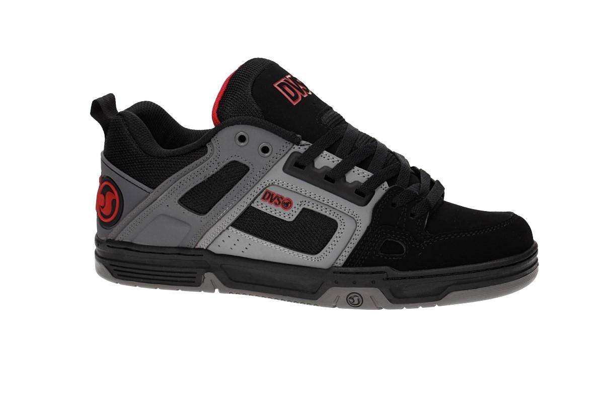 DVS Comanche Nubuck Shoes (black charcoal red deegan)