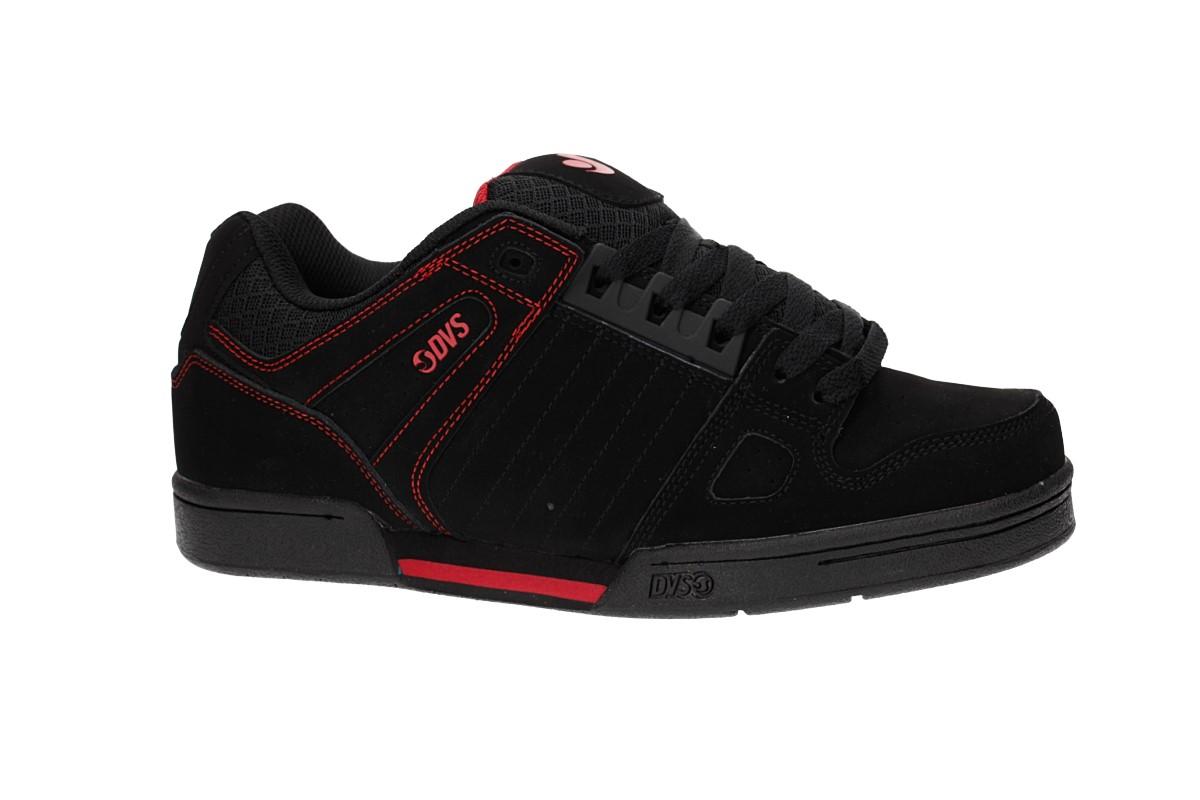 DVS Celsius Nubuck Shoes (black black red)