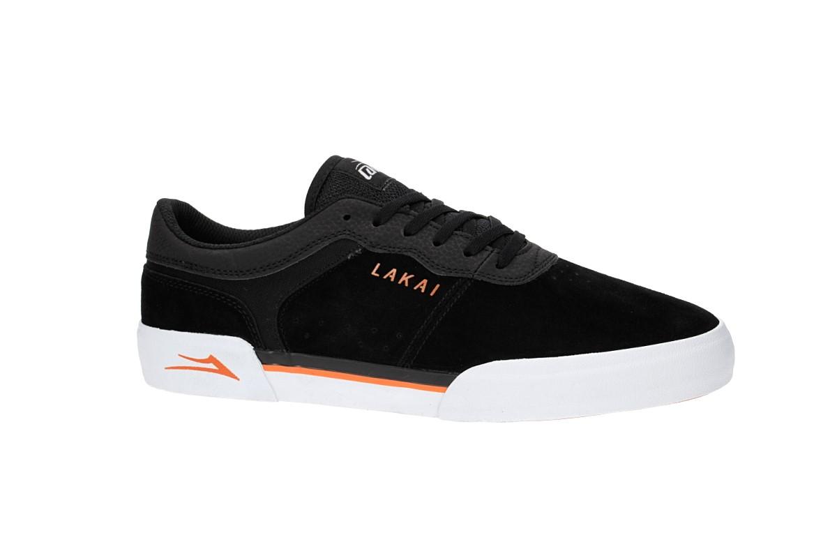 Lakai Staple Suede Chaussure (black orange)