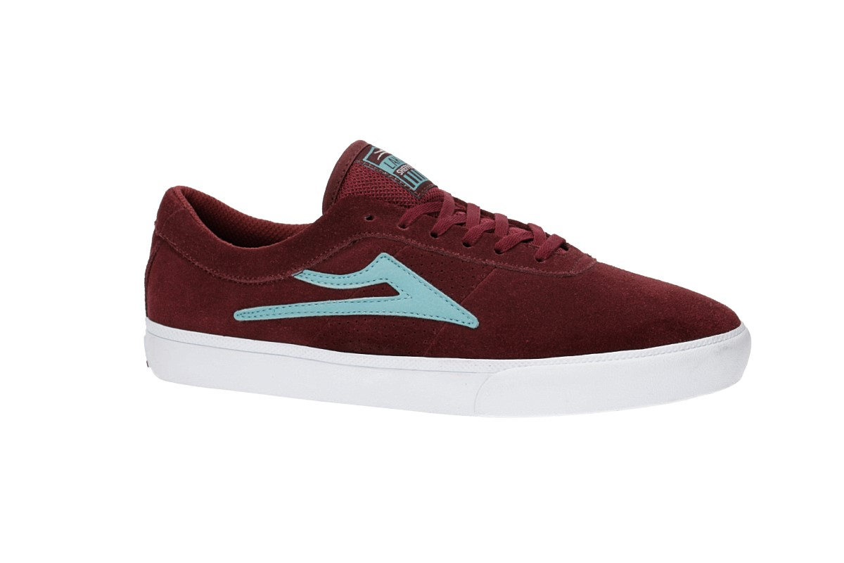 Lakai Sheffield Suede Chaussure (burgundy)