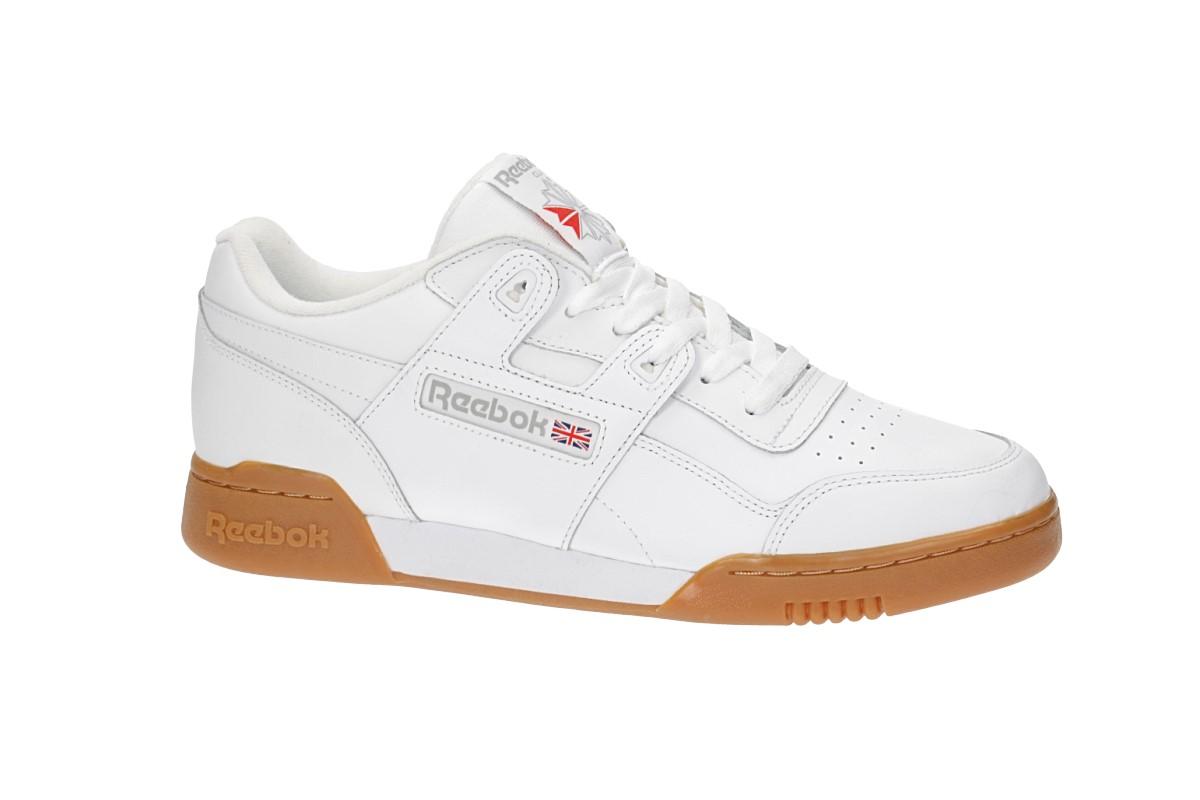 Reebok Workout Plus Schoen (white carbon classic red)