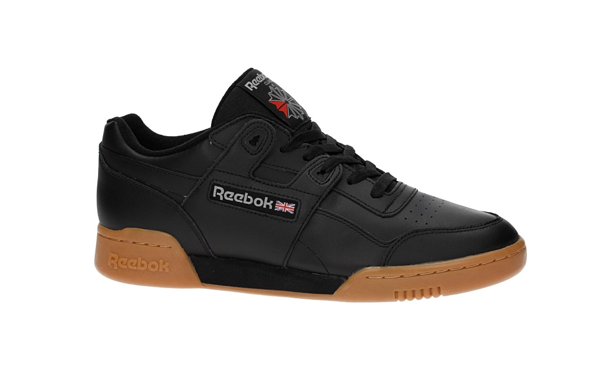 Reebok Workout Plus Schoen (black carbon classic red)