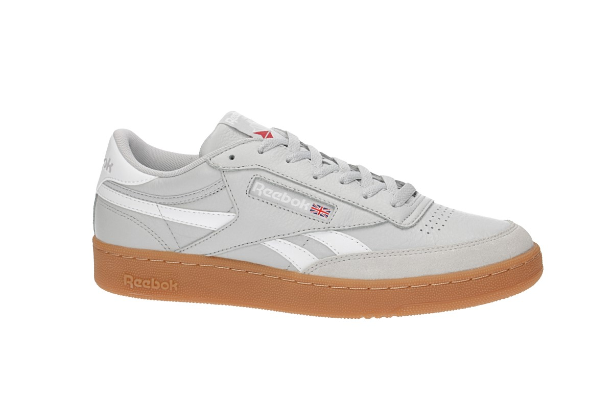 Reebok Revenge Plus Gum Shoes (skull grey white) buy at skatedeluxe 700d93a52